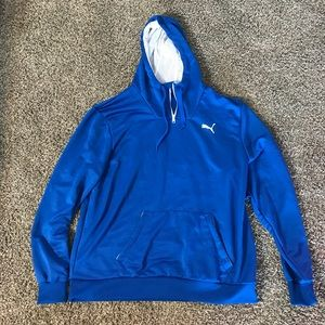 Puma Blue Hoodie Men's Size XXL